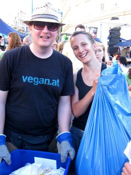 Veganmania 13 - Startschuss in Wien beim MQ
