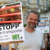 Die VGT-Tiertransport-Kampagne